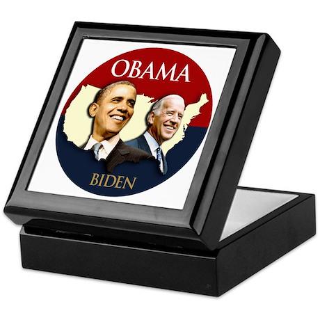Obama/Biden USA-2 Keepsake Box