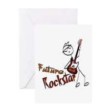 Future Rockstar Greeting Card