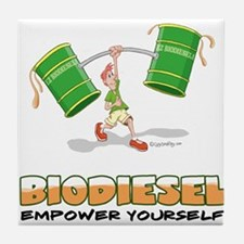 Empower yourself Tile Coaster