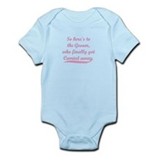 SATC Carrie Big Toast Infant Bodysuit