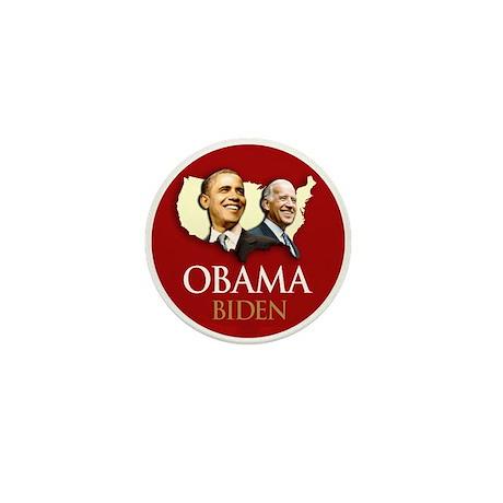 Obama/Biden USA-5 Mini Button (10 pack)