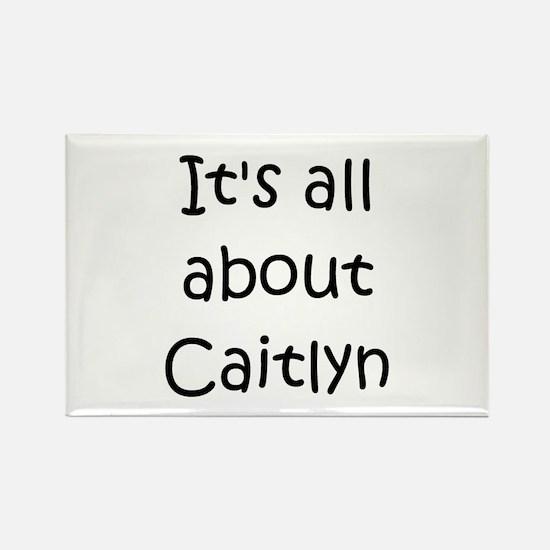 Cute Caitlyn Rectangle Magnet