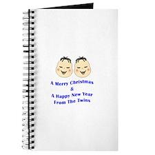 Merry Christmas_Twins Journal