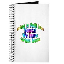 Full Load Santa_Twins Journal