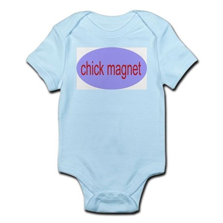 chick magnet Infant Creeper