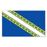 Champagne flag Single