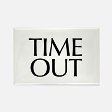 Time Out McCain Rectangle Magnet