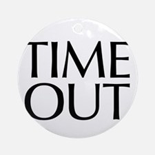 Time Out McCain Ornament (Round)