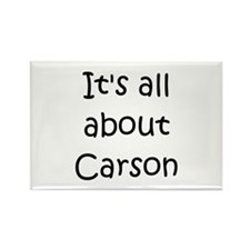 Cute Carson Rectangle Magnet