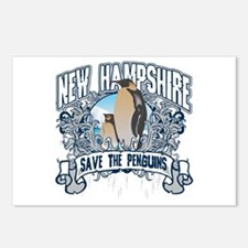 Save the Penguins New Hampshire Postcards (Package