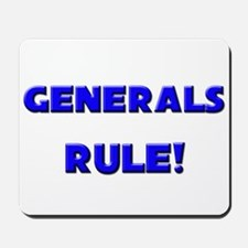 Generals Rule! Mousepad