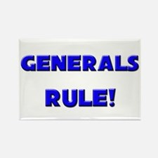 Generals Rule! Rectangle Magnet