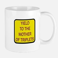 Yield Mother of Triplets Mug