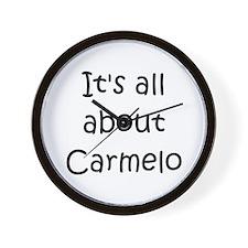 Funny Carmelo Wall Clock