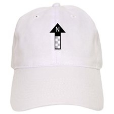 Archaeology north arrow Baseball Cap