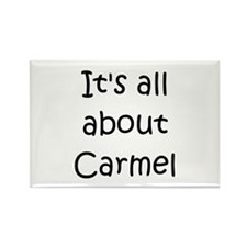 Cute Carmel Rectangle Magnet (10 pack)