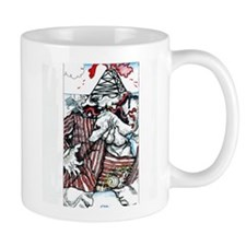 Mug Oil Slick No More Wars for Oil - Original Art