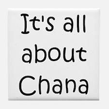Cute Chana Tile Coaster