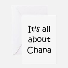 Unique Chana Greeting Card
