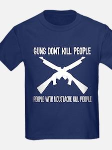 Guns don't kill people T