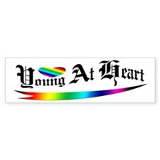 Young At Heart Bumper Bumper Sticker