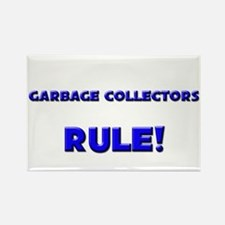 Garbage Collectors Rule! Rectangle Magnet