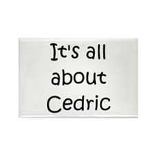 Cute Cedric Rectangle Magnet