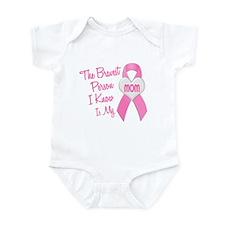 Bravest Person PINK (Mom) Infant Bodysuit