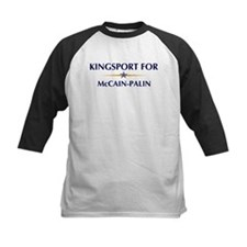 KINGSPORT for McCain-Palin Tee