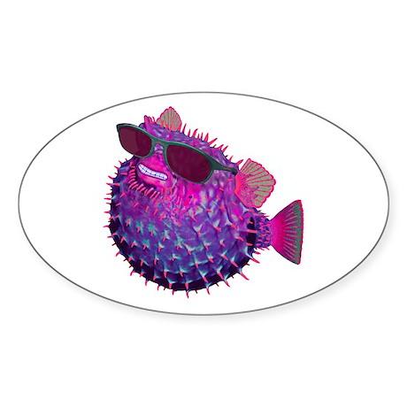 Spike Oval Sticker