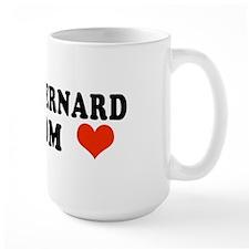 Saint Bernard Mom Mug