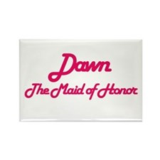 Dawn - Maid of Honor Rectangle Magnet