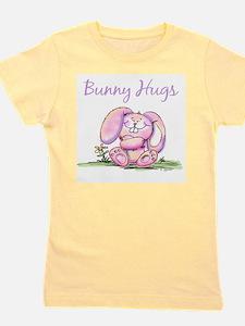 Bunny Hugs Women's Pink T-Shirt T-Shirt