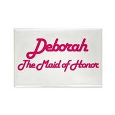 Deborah - Maid of Honor Rectangle Magnet