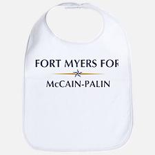 FORT MYERS for McCain-Palin Bib