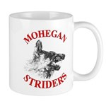 Mohegan wolf logoc Mugs