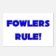Fowlers Rule! Postcards (Package of 8)
