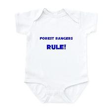 Forest Rangers Rule! Infant Bodysuit