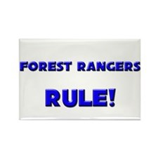 Forest Rangers Rule! Rectangle Magnet