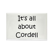 Cool Cordell Rectangle Magnet