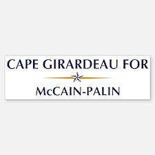 CAPE GIRARDEAU for McCain-Pal Bumper Bumper Bumper Sticker
