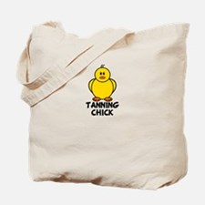 Tanning Chick Tote Bag