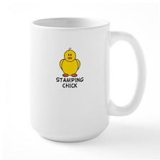 Stamping Chick Mug