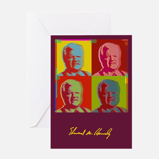 Ted Kennedy Greeting Card