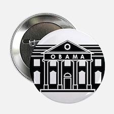 """President Obamas House 2.25"""" Button"""