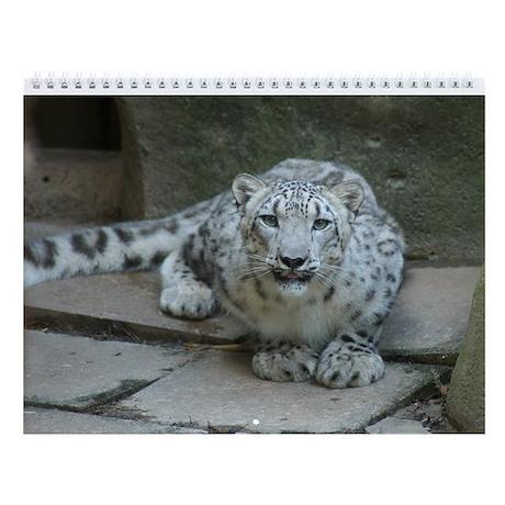 Snow Leopard M006 Wall Calendar