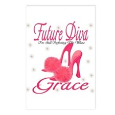 Future Diva Grace Postcards (Package of 8)