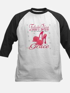 Future Diva Grace Kids Baseball Jersey