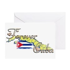 Forever Cuba - Greeting Card