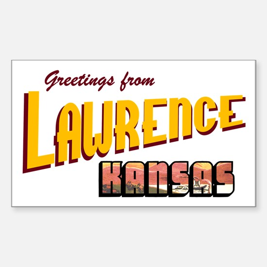 Lawrence Rectangle Decal